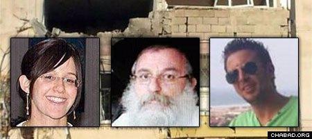 Kiryat Malachi residents Mira Scharf, Rabbi Aharon Smadja and Yitzchok Amsalem perished in Thursday's attack.