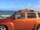 SurfBoard Menorah