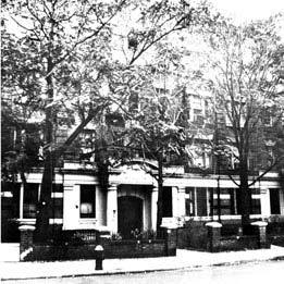 Residência de Rebetsin Chana no Brooklyn, President Street, 1418.