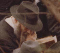 O Rebe em seu funeral