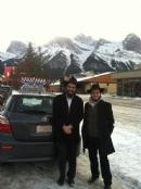 1st Time in Alberta - Winter Roving Rabbis - Chanukah 5773