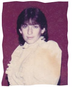 Laura as a teenager.