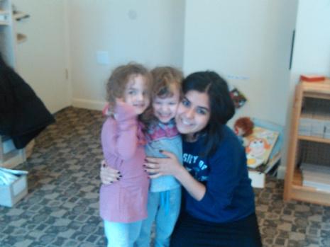 Children with parent