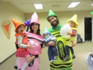 Purim in Color '13