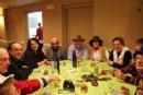 Chabad Shul Purim Feast