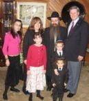 Chanukah 2005 at the Matusof's Home