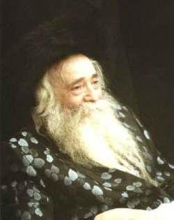 Rabbi Yekoutiel Yehouda Halberstam (1905–1994), le Rabbi de Sanz-Klausenburg.