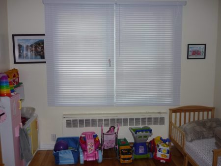 In anticipation of the summer, I installed the thickest blinds that Walmart has to offer. So far, they are up at 6:30 a.m. regardless.