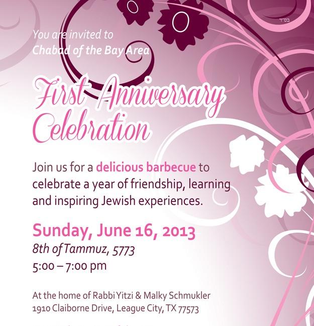 1st Anniversary Celebration - Barbecue