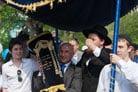 Moscow Neighborhood Gets New Torah Scroll