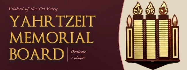 Yahrtzeit Memorial Board.jpg