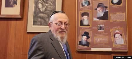 Rabbi Hershel (Yehudah Tzvi) Fogelman.