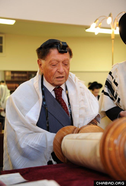"""Rohr was a """"true Torah scholar"""" who """"enjoyed studying the most complex concepts of Torah."""""""