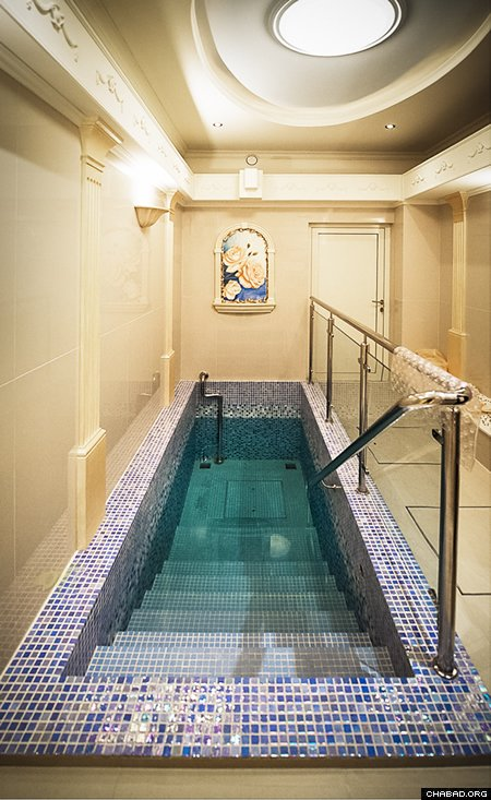 The Warsaw Mikvah. (Photo: Clifford Lester)