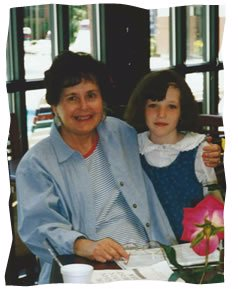 My mother with one of my daughters