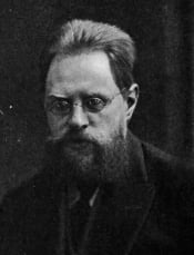 Georgy Zamyslovsky, right-wing member of the Duma who led the conspiracy and acted as a prosecutor at the trial.