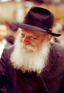 The seventh Chabad Rebbe, R. Menachem Mendel Schneerson.  The Rebbe emphasized that the final telos of history is the revelation of the divine essence (atzmus), as G‑d is in G‑dself, in plain sight upon the phenomenal world.