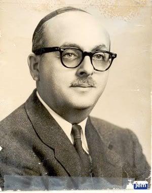 David Hollander during the 1950's
