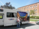 Spring 2012: Mitzvah tank invades UCLA for Passover