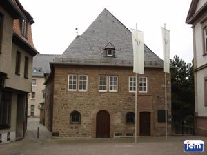 "The ""Rashi Shul"" in Worms, Germany"