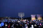National Menorah Brightens White House South Lawn