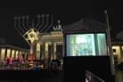 Tallest Menorah in Europe Reflects the 'Best Response' to Kristallnacht