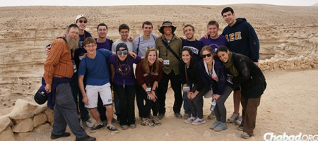 """""""For me, each time I go to Israel is like going for the first time because I have the opportunity to see it through our participants' eyes,"""" says Klein."""