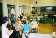 Torah lecture at elder facility.JPG