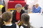 Young and Old Enjoy Time Together in Yud Shevat Program