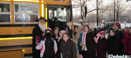 Rabbi Yosef Minkowitz, left, came to Montreal along with his wife Pessy more than 40 years ago as emissaries of the Lubavitcher Rebbe to Beth Rivkah, where he is principal and she is extracurricular-activities coordinator.