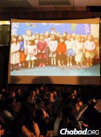 Girls from the Beth Rivkah Schools in Brooklyn, N.Y., marked the 100th anniversary of passing of Rebbetzin Rivkah, after whom the school is named, with a specially prepared video presentation on her extraordinary life.