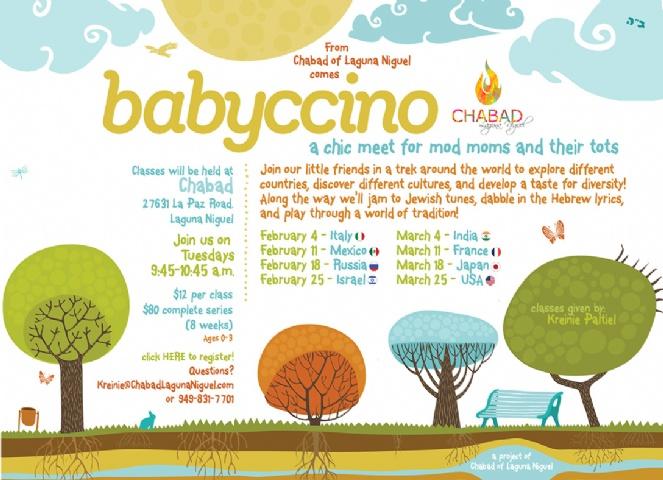Babyccino at Chabad