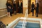 Entertainer Paula Abdul Helps Celebrate the Mitzvah of Mikvah