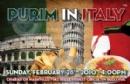 2014 Purim in Italy