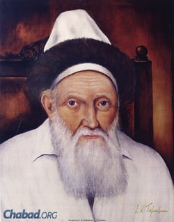 """Rabbi Menachem Mendel, known as the """"Tzemach Tzedek,"""" was the third Rebbe of Chabad, and the great-grandfather and namesake of the Rebbe. (Photo: JEM)"""