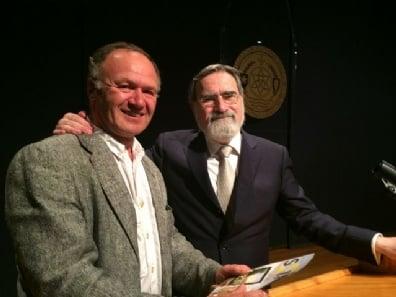 Boris Berezin with Lord Rabbi Jonathan Sacks