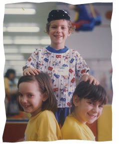 Boruch as a child