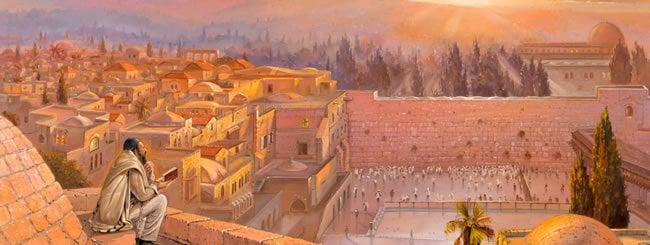 Lever du soleil à Jérusalem - par Alex Levin