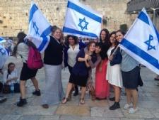 Two Aggies at the Kotel On Yom Yerushalayim!