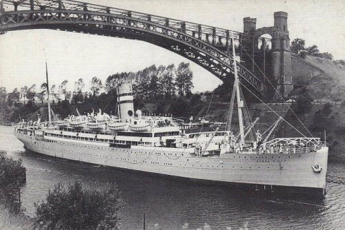 The S.S. Serpa Pinto carried thousands of Jewish refugees from the Holocaust to safety, including the Rebbe, Rabbi Menachem M. Schneerson, of righteous memory, and Rebbetzin Chaya Mushka Schneerson, of righteous memory in 1941.