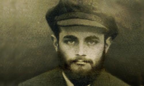La photographie du Rabbi de son passeport russe. Crédit photo: JEM.