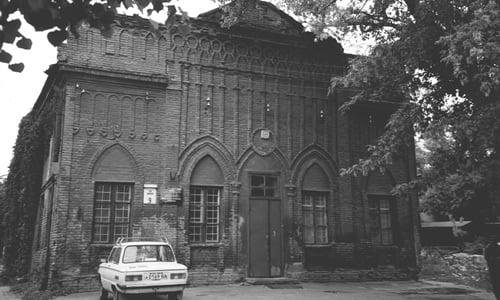 La synagogue de Yekatrinoslav où Rabbi Levi Its'hak, le père du Rabbi, officiait comme rabbin. Crédit photo: JEM.