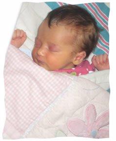 My baby, Shaina Batsheva.