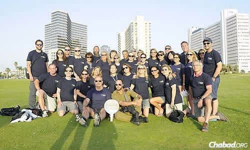 At the closing session in Tel Aviv of an eight-day experience called Mayanot Legacy, where parents of children who have gone on Israel trips get their own taste of the country. A significant percentage of this group hails from Florida.