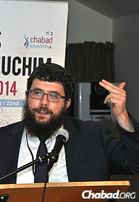 Rabbi Bentzi Sudak, of Chabad Lubavitch UK Headquarters in London, stressed the importance of building on the foundations laid by his father—Rabbi Nachman Sudak, OBE, who passed away in June—during his decades of leadership.