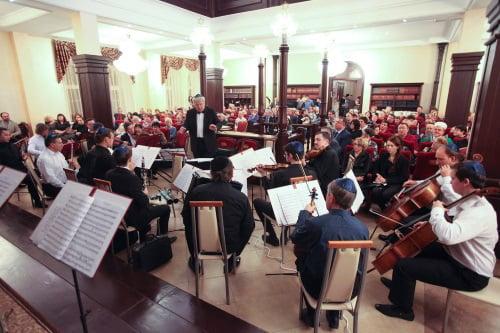 קונצרט לרגל מלאות 135 שנה לייסוד בית הכנסת