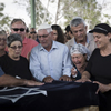 Four-Year-Old Daniel Tragerman Laid to Rest; Gaza Barrage Continues