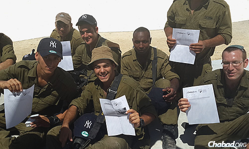 Even though a cease-fire is currently in effect, the letters are still arriving. (Photo: CTVP)