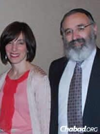 Rabbi Yossi and Dassie New