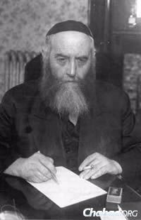 Rabbi Yosef Yitzchak Schneersohn, of righteous memory